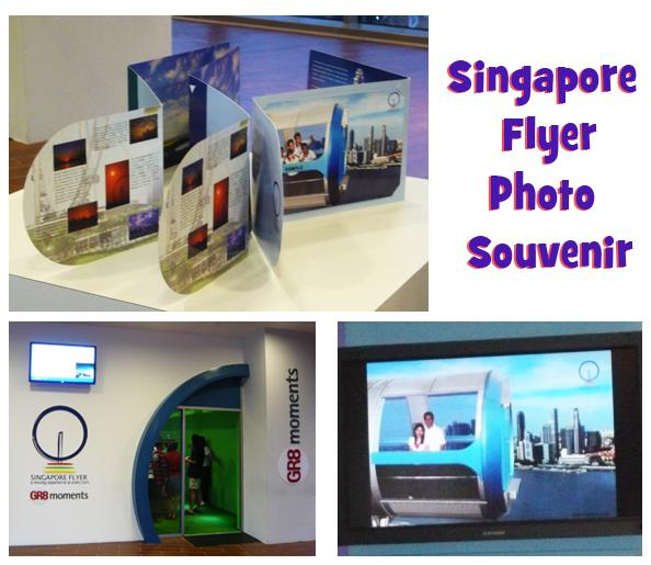 Singgapore Flyer Photo Souvenir