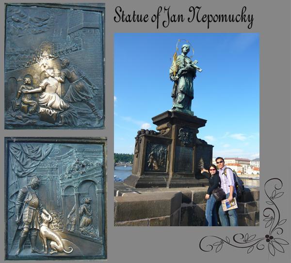 Statue of St John of Nepomuck Good Luck