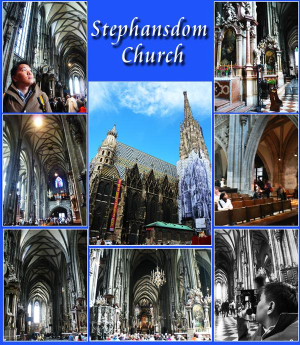 Vienna Stephansdom Cathedral Nave