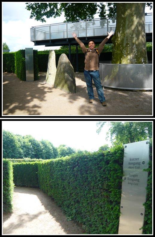 Success Schonbrunn Palace Maze Puzzle Solved