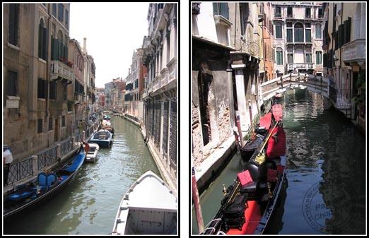 Narrow Venetian Canals