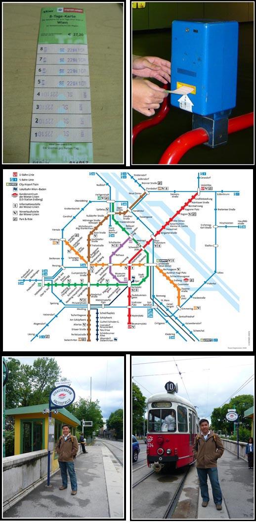 Vienna Public Transport Ticket Validation Tram