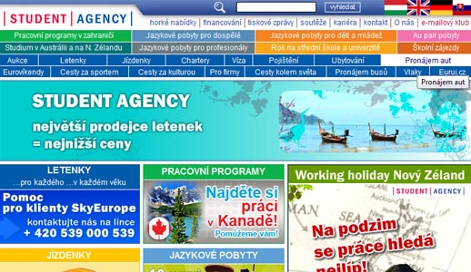 Booking Student Agency Bus from Cesky Krumlov to Prague Step 1