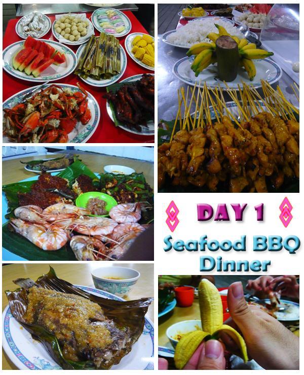 Kukup Seafood Dinner