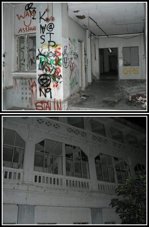 Old Changi Hospital Ghost Tour