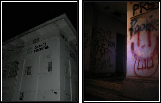 Old Changi Hospital Graffiti Eerie Ghost Tour