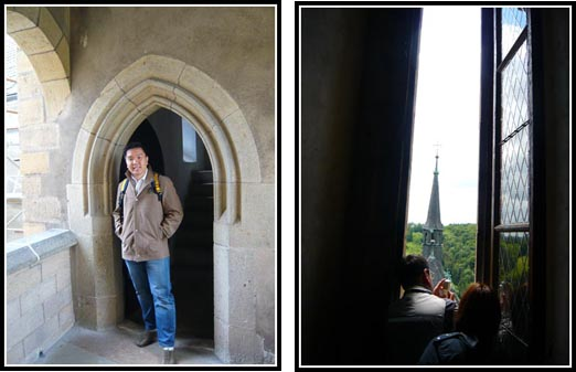 Photo-Taking in Karlstejn Castle