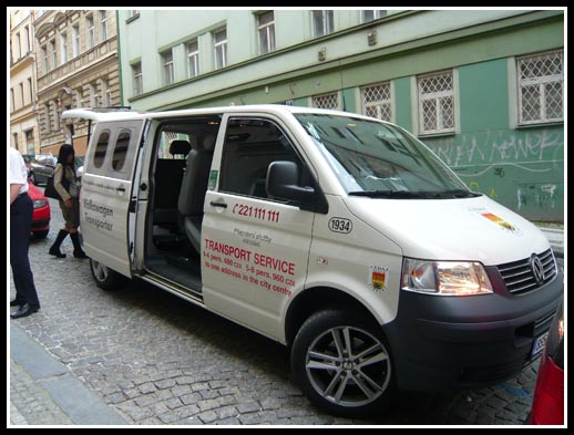 Prague Airport Transfer Cedaz