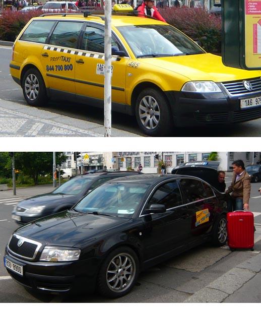 Profi Taxi AAARadio Taxi Prague