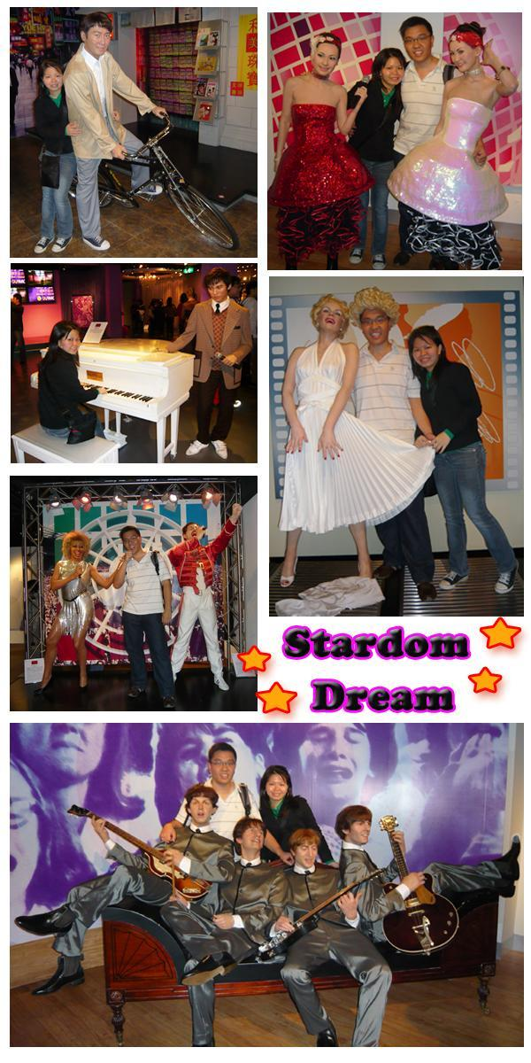 Madame Tussauds Hong Kong Wax Museum Hong Kong and International Singer Wax Figures Stardom Dream