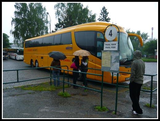 Student Agency Bus Cesky Krumlov