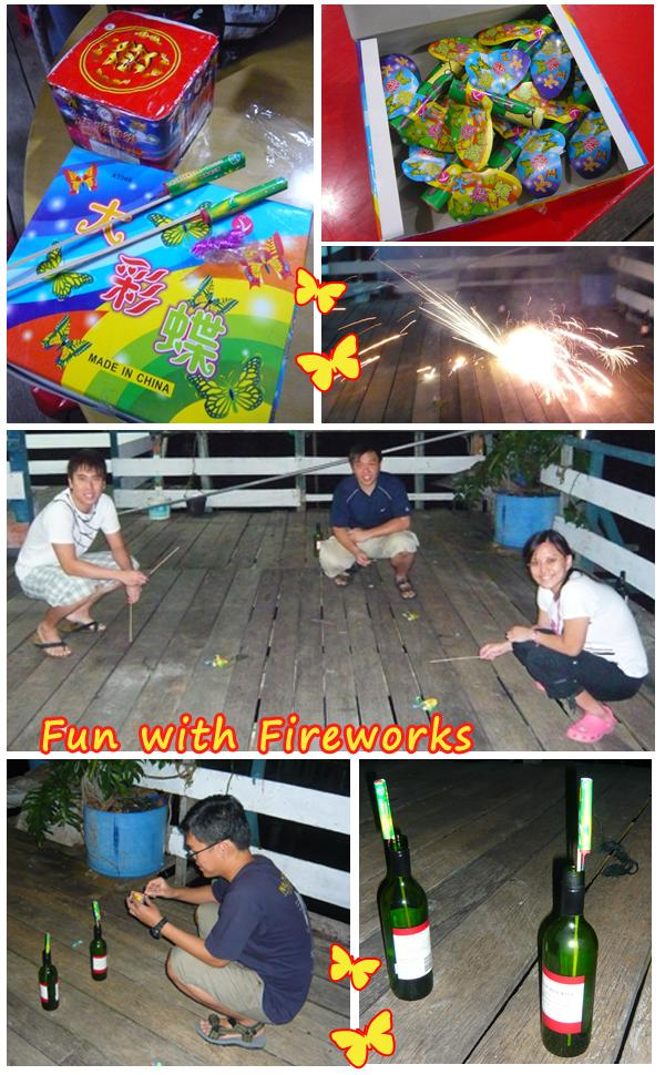 Kukup Fireworks Malaysia Johor