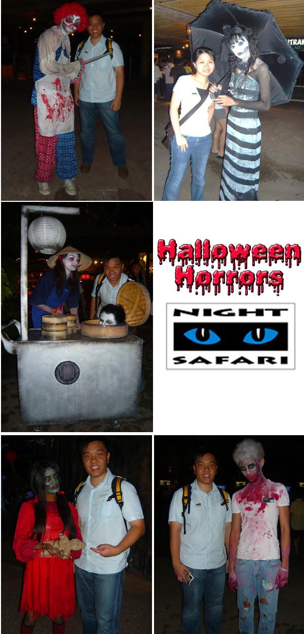Halloween Horrors Characters Night Safari
