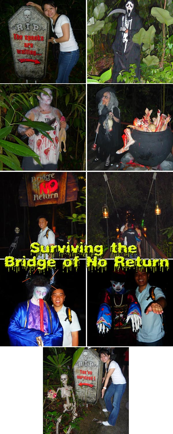 Halloween Horrors Night Safari Bridge of No Return