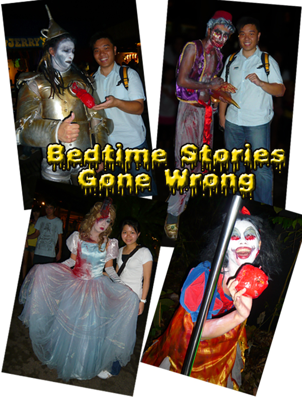 Halloween Horrors Night Safari Fairy Tale Story