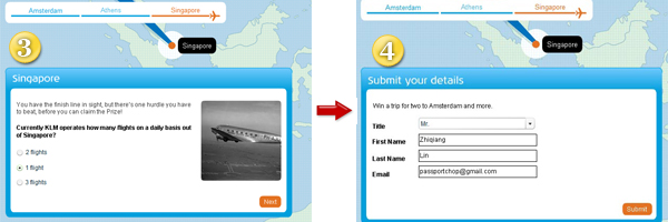 KLM 90th Anniversary Inspiration Game Question Contest