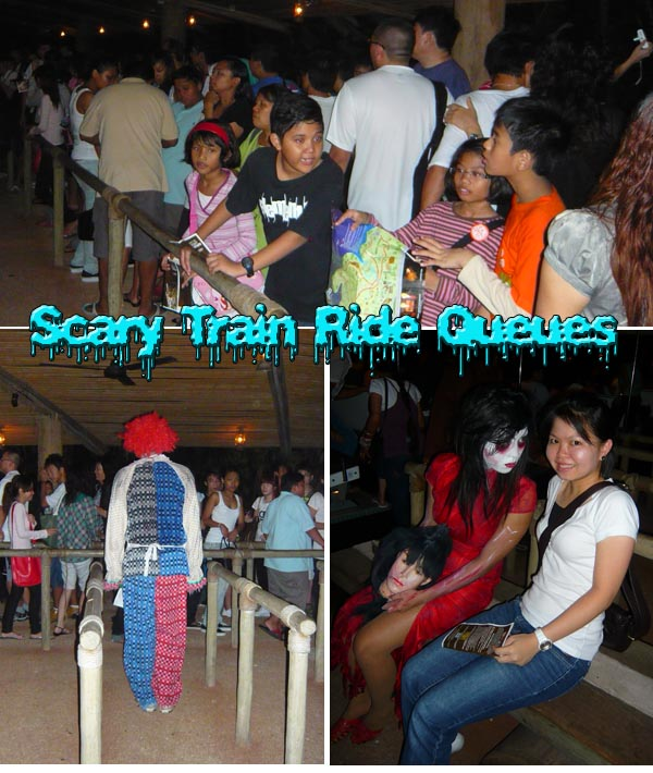 Long Queues Night Safari Halloween Horror Train