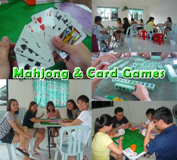 Mahjong & Card games
