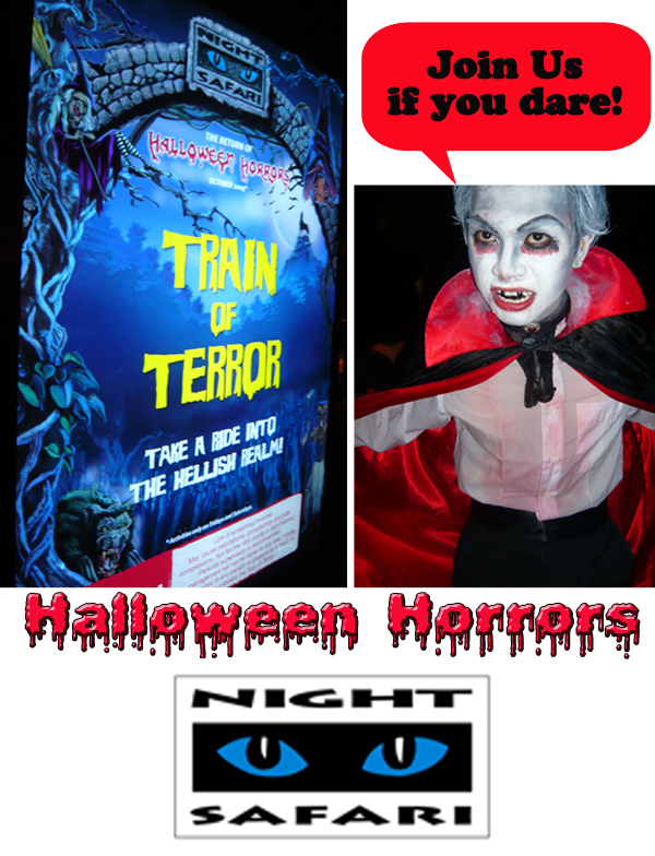 Night Safari Halloween Horrors Tour Review