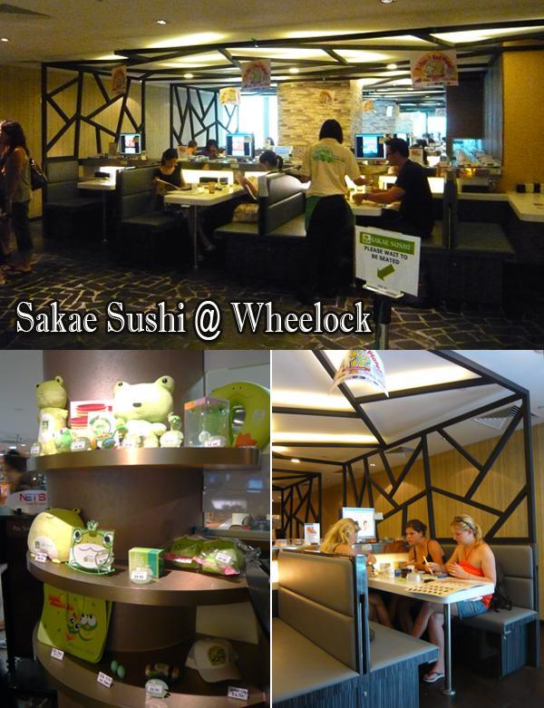 Sakae Sushi @ wheelock place