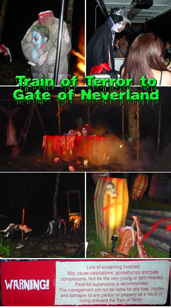 Train of Horror Gate of Neverland