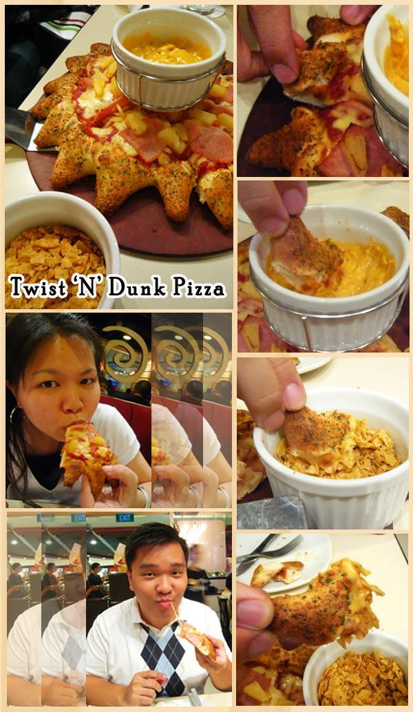 Twist 'N' Dunk Pizza