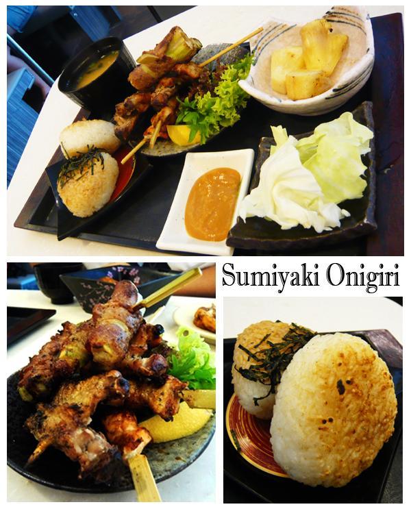 Sakae Sushi sumiyaki onigiri