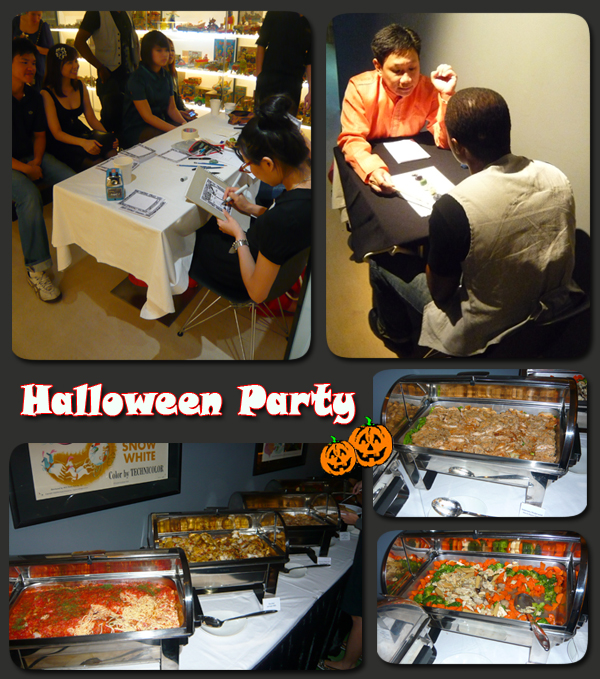 Halloween Party Mint Museum of Toys Fun Caricature Food