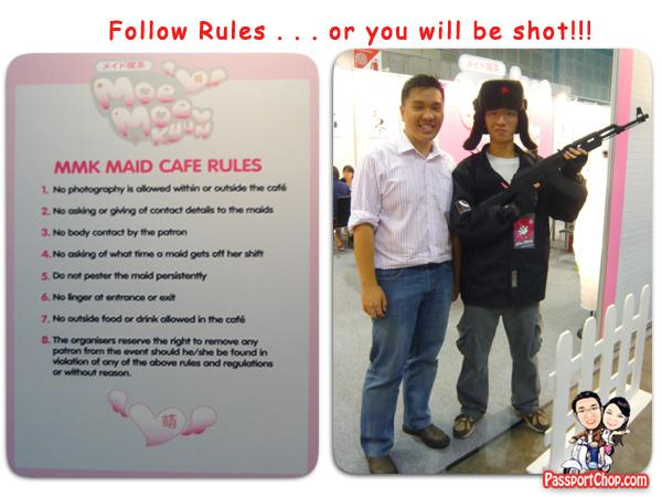 Moe Moe Kyun (MMK) Maid Cafe Rules AFA 09