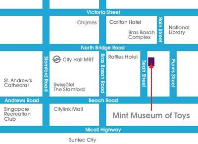 Map to MINT Museum