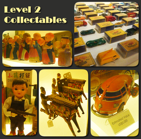 Mint Museum of Toys Level 2 Collectables