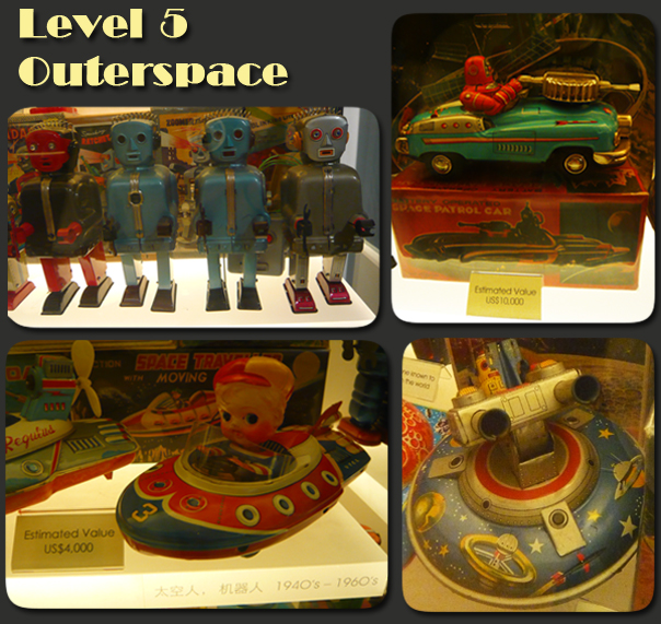 Mint Museum of Toys Level 5 Outerspace