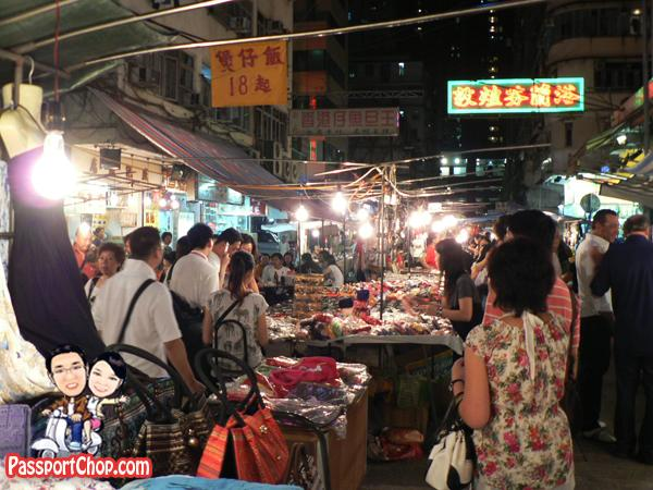 Hong Kong Night Markets Shopping