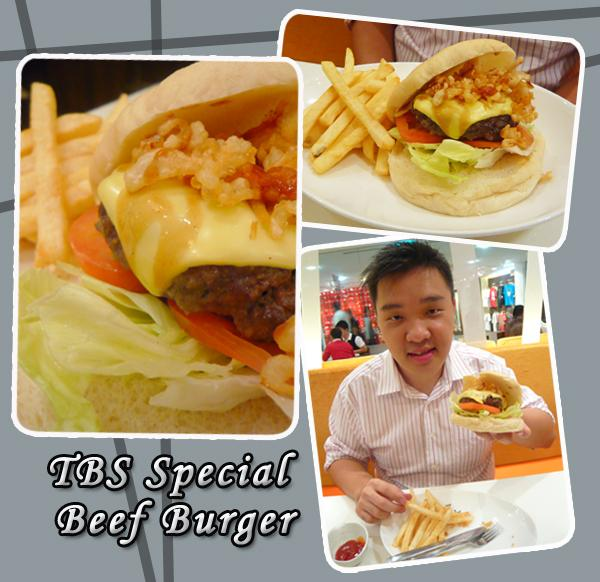 TBS Special Beef Burger