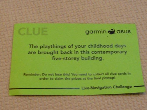 Asus Garmin Live Challenge Clue 4