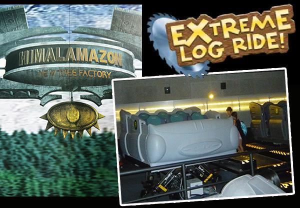 Sentosa Cineblast Extreme log ride
