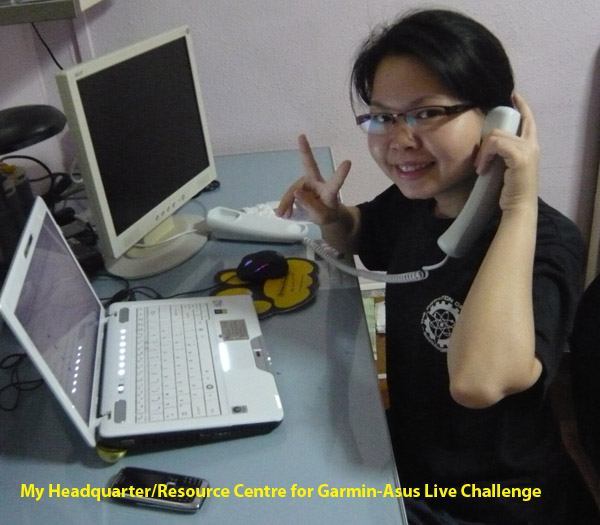 Garmin Asus Live Challenge Headquarter Resource