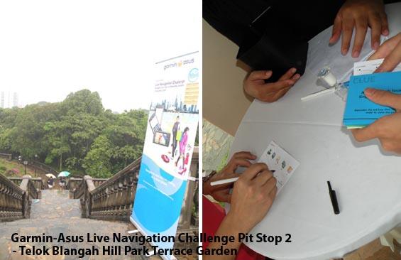 Garmin Asus Live Challenge Telok Blangah Hill Park