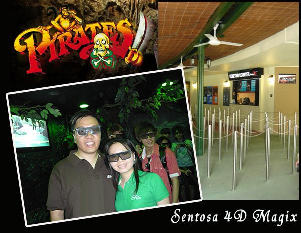 Sentosa 4D Magix Pirates in 4-D
