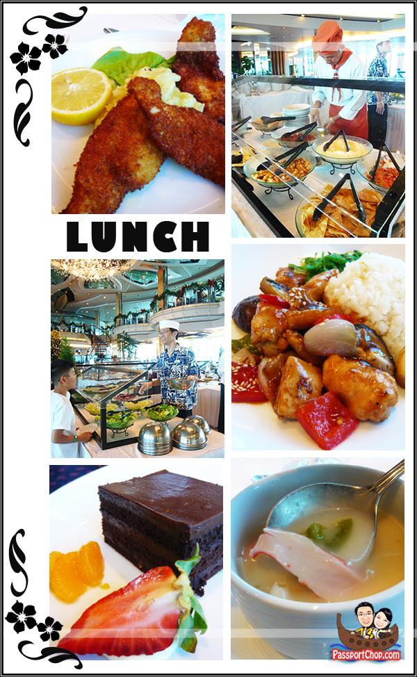 Royal Caribbean Cruise Legends of the Sea Romeo & Juliet Restaurant Lunch