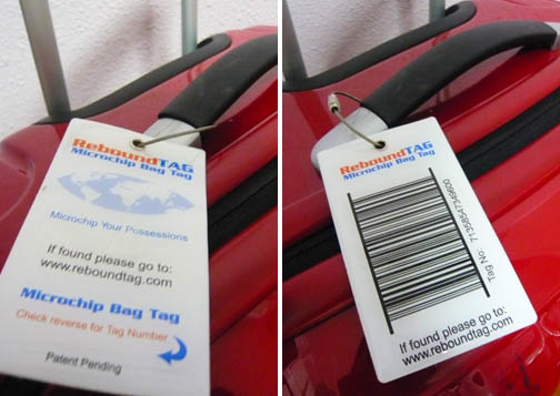 ReboundTag Microchip Luggage