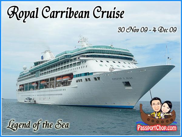 Royal Carribean Cruise Ship Legend of the Seas