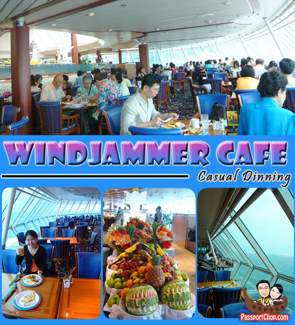 Royal Caribbean Cruise Legend of the Seas Windjammer Cafe