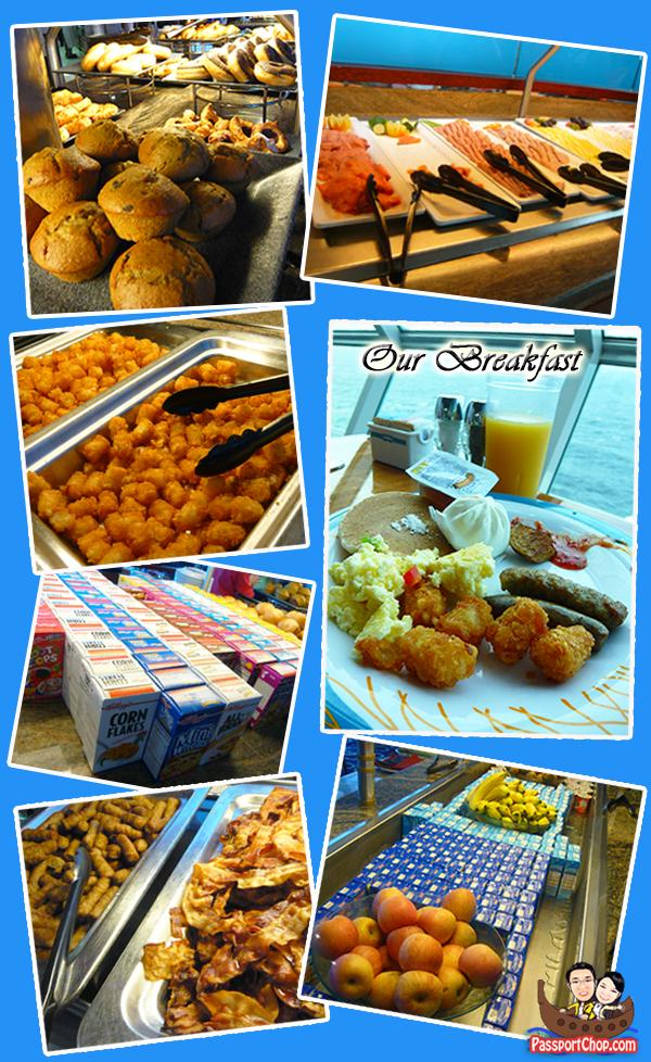 Royal Caribbean Cruise Windjammer Cafe Breakfast