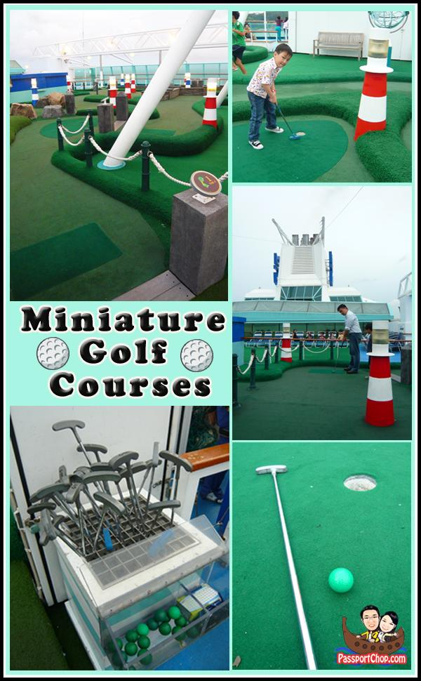 Miniature Golf Courses Legend of the Seas Royal Caribbean Cruise