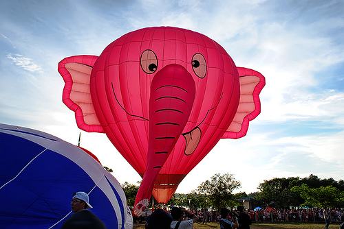 Cute Elephant Hot Air Balloon Putrajaya