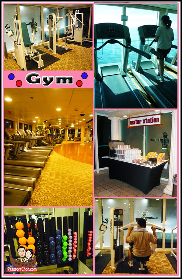 Royal Caribbean Cruise Legend of the Seas Gym Onboard Personal Trainer