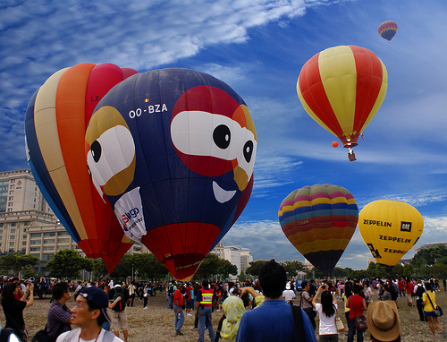 Hot Air Balloon Putrajaya Fiesta