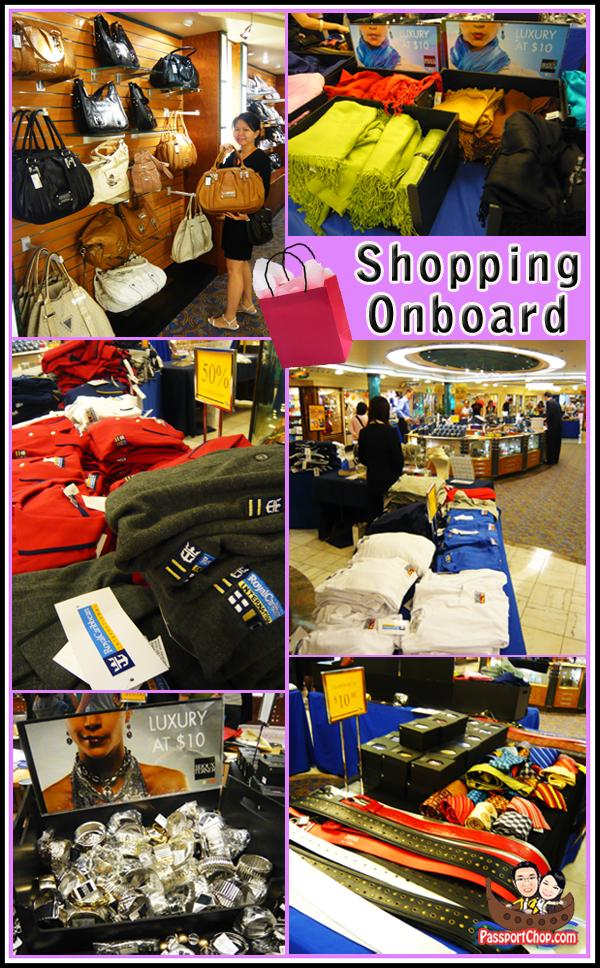 Shopping Onboard Royal Caribbean Cruise