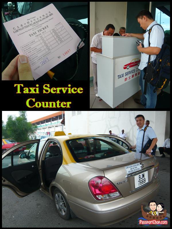Taxi Service Counter